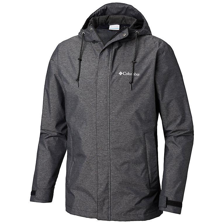Black Heather Men's Norwalk Mountain™ Jacket—Big, View 0