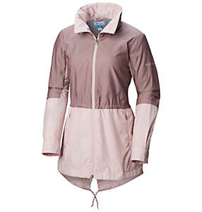 Women's Sustina Springs™ Long Lined Windbreaker—Plus Size