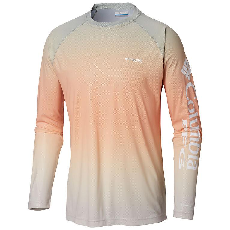 17cc8b25 Cypress Gradient Men's PFG Terminal Deflector™ Printed Long Sleeve Shirt,  ...