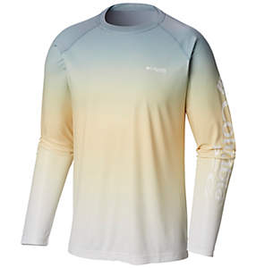 Men's PFG Terminal Deflector™ Printed Long Sleeve Shirt