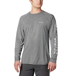 Men's PFG Terminal Deflector™ Long Sleeve Shirt—Big