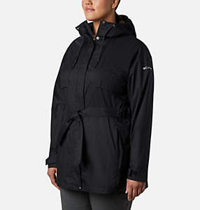 11f694c82d6ae Women s Pardon My Trench™ Rain Jacket—Plus Size