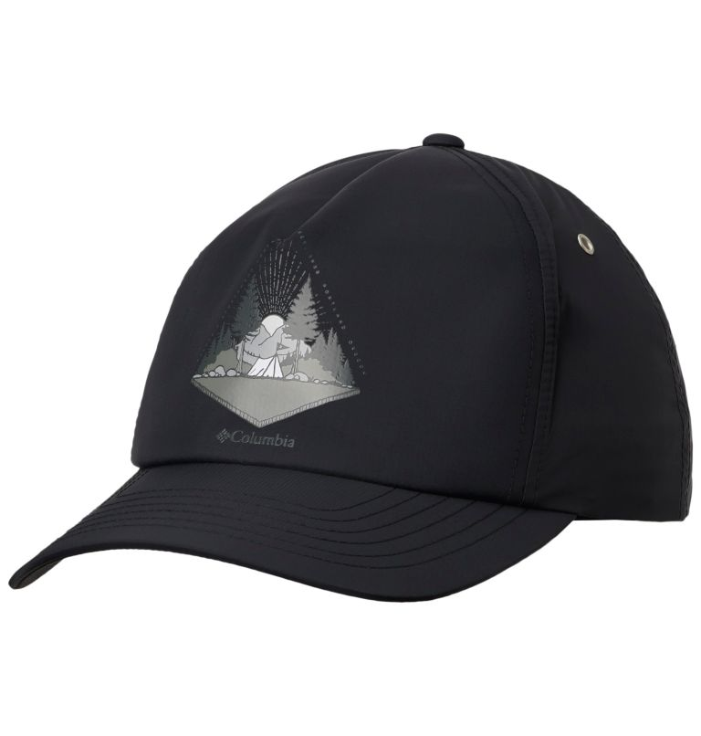 Washed Out™ Ball Cap | 010 | O/S Casquette de Baseball Washed Out™ Unisexe, Black, front