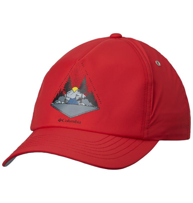Washed Out™ Ball Cap | 613 | O/S Unisex Washed Out™ Ball Cap, Mountain Red, front