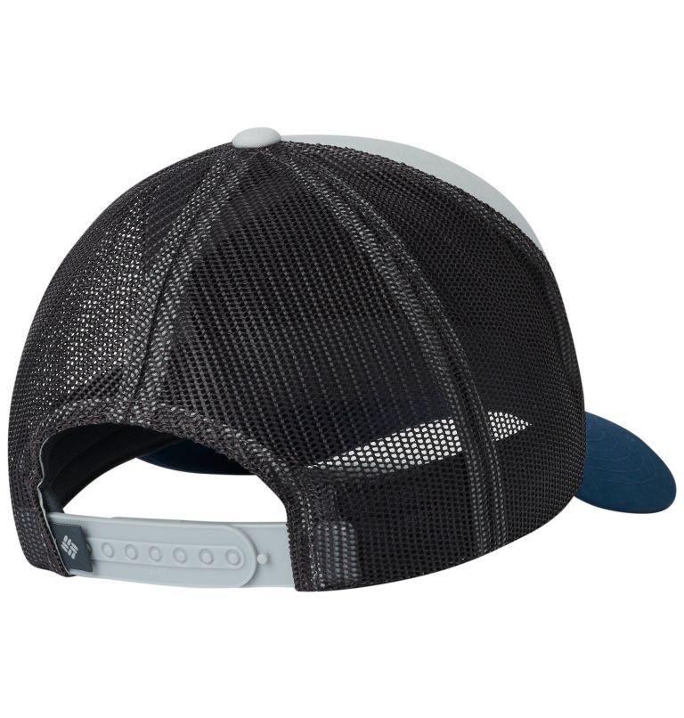 Trail Evolution™ II Snap Back  | 019 | O/S Unisex Trail Evolution™ II Snap Back Hat, Cool Grey, Petrol Blue Patch, back