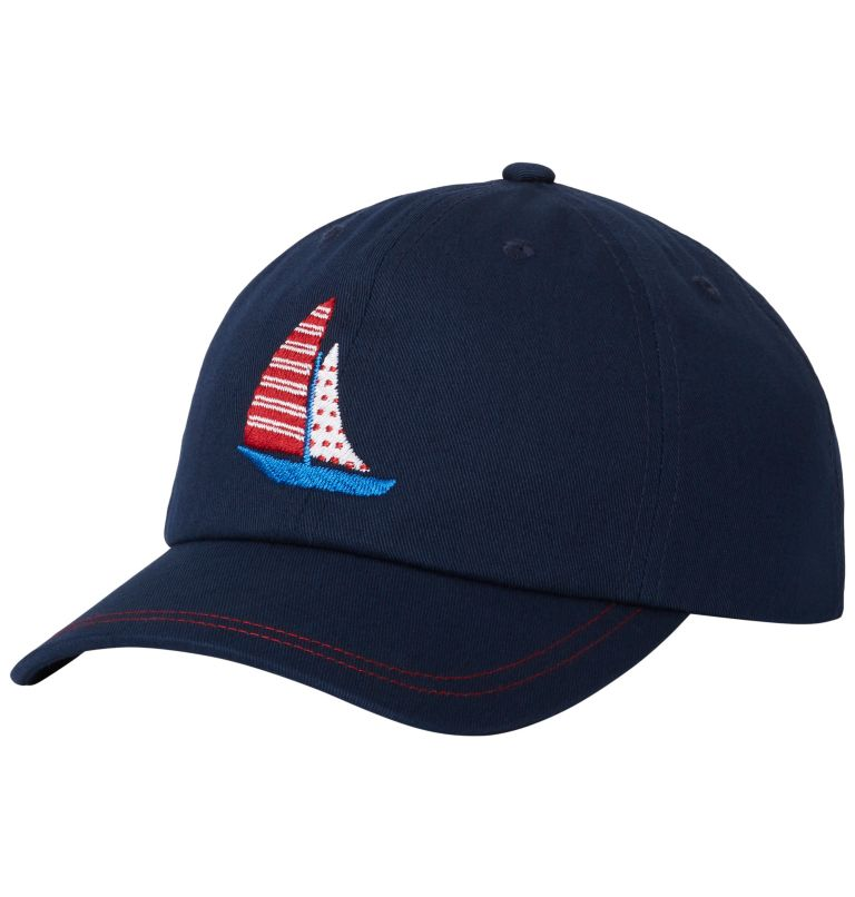 CSC™ Youth Ball Cap | 464 | O/S Youth CSC™ Youth Ball Cap, Collegiate Navy, Sail Boat, front