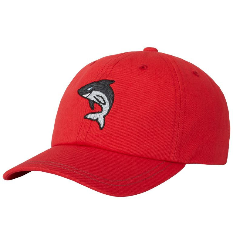 CSC™ Youth Ball Cap   691   O/S Youth CSC™ Youth Ball Cap, Bright Red, Shark, front