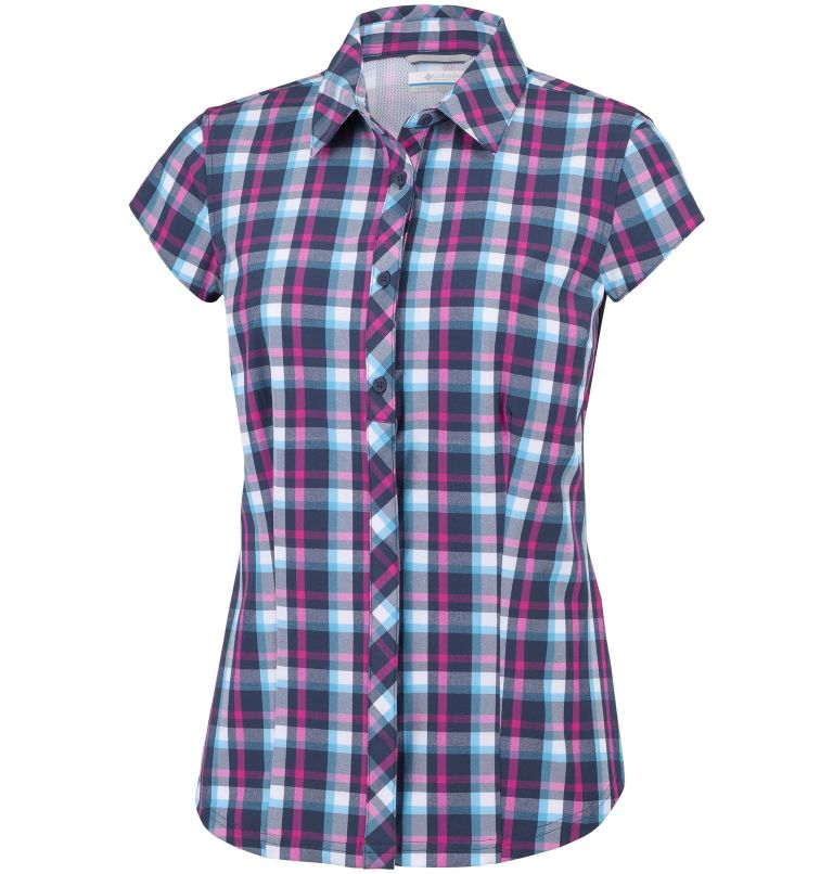 Camicia a maniche corte Saturday Trail™ II Stretch Print da donna Camicia a maniche corte Saturday Trail™ II Stretch Print da donna, front