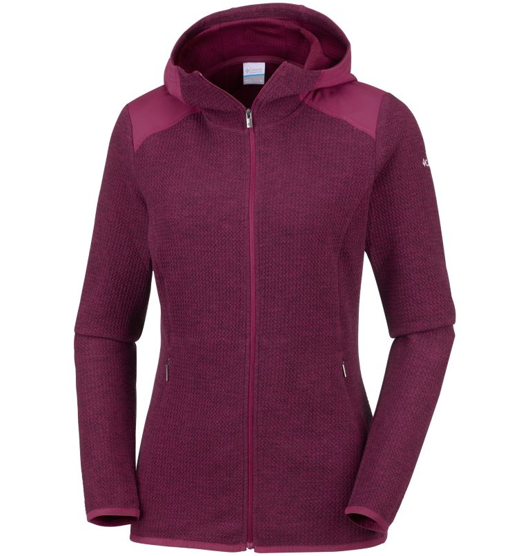 Women's Coggin Peak™ Full Zip Hooded Fleece Women's Coggin Peak™ Full Zip Hooded Fleece, front