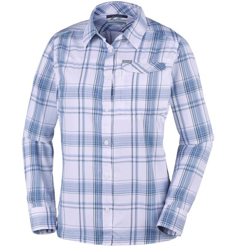 Camicia a maniche lunghe con motivo scozzese Silver Ridge™ 2.0 da donna Camicia a maniche lunghe con motivo scozzese Silver Ridge™ 2.0 da donna, front