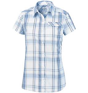 Chemise Manches Courtes à Carreaux Silver Ridge™ 2.0 Femme