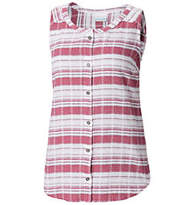 Women's Summer Ease™ Sleeveless Shirt—Plus Size