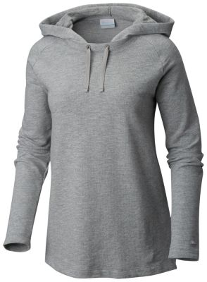 Columbia Womens Alexandria Bay EXS Hoodie (Grey Heather)