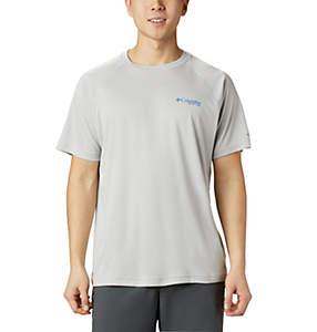 cff462918d4 Men's PFG Terminal Tackle™ Heather Short Sleeve Shirt