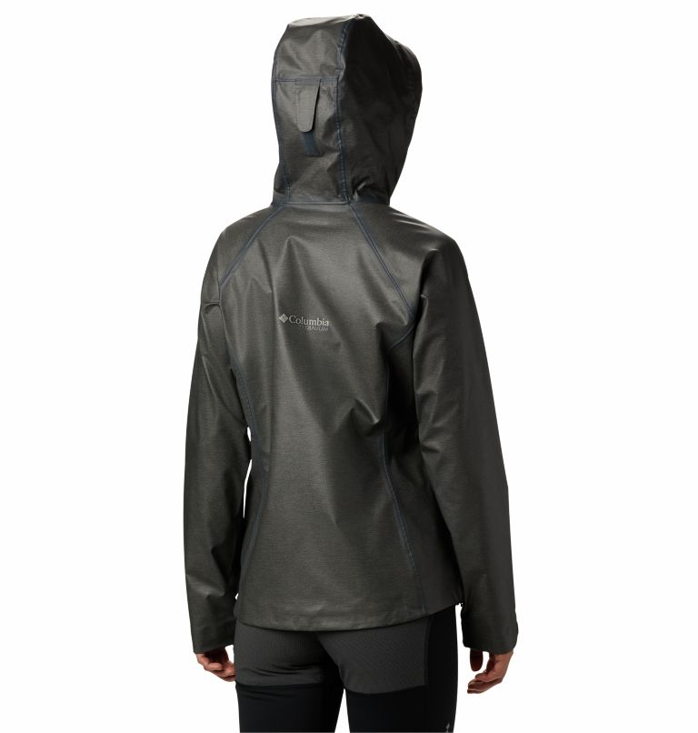 OutDry Ex™ Reign™ Jacket | 030 | M Giacca OutDry Ex™ Reign™ da donna, Charcoal Heather, back