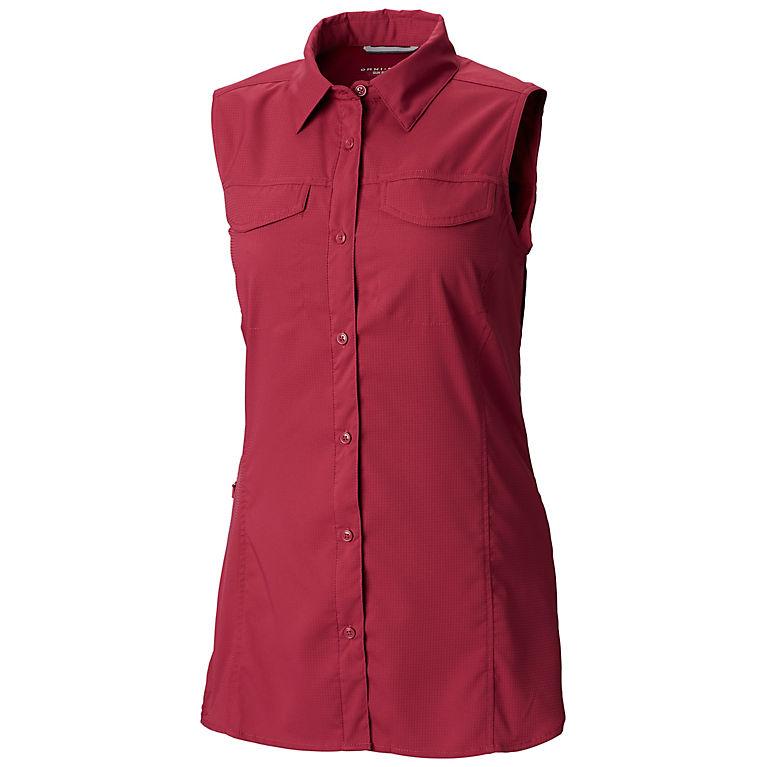 1d77d1c1be99cc Wine Berry Women s Silver Ridge™ Lite Sleeveless Shirt - Plus Size