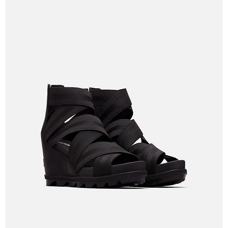 4c4e5480a Black Women s Joanie™ II Strap Wedge Sandal