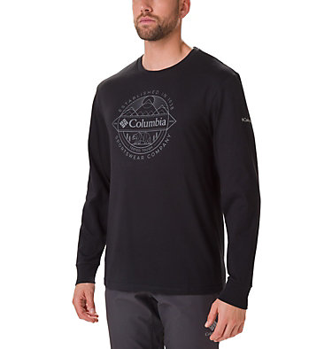 T-shirt Cades Cove Long Sleeve Graphic da uomo , front