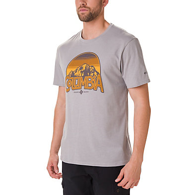 T-shirt Basin Butte™ Short Sleeve Graphic da uomo , front