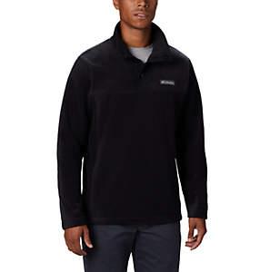 Men's Steens Mountain™ Half Snap Fleece Pullover - Tall