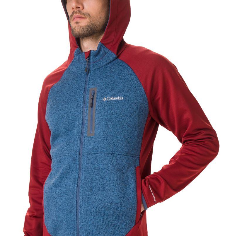 Men's Altitude Aspect™ Hooded Hybrid Fleece Men's Altitude Aspect™ Hooded Hybrid Fleece, a1