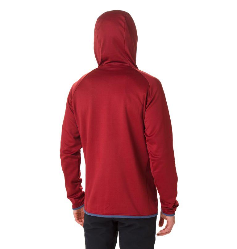 Men's Altitude Aspect™ Hooded Hybrid Fleece Men's Altitude Aspect™ Hooded Hybrid Fleece, back