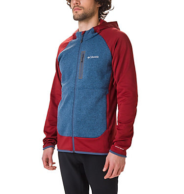 Men's Altitude Aspect™ Hooded Hybrid Fleece , front