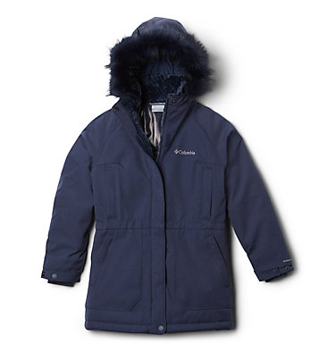 Girls' Boundary Bay Down Parka , front