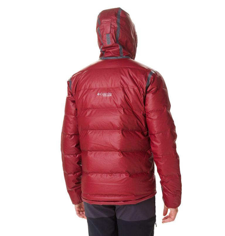 OutDry Ex™ Alta Peak™ Down Jac | 664 | S Doudoune OutDry™ Ex Alta Peak Homme, Red Jasper Heather, back