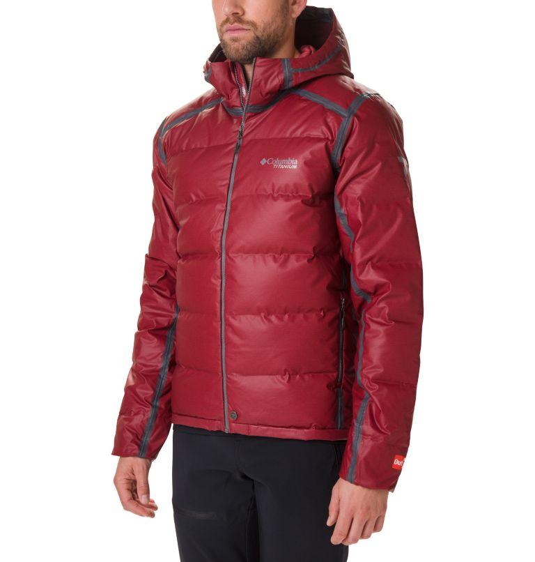 OutDry Ex™ Alta Peak™ Down Jac | 664 | S Doudoune OutDry™ Ex Alta Peak Homme, Red Jasper Heather, front