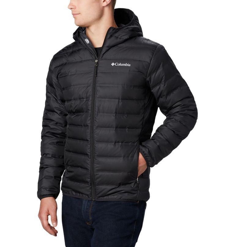 Lake 22™ Down Hooded Jacket | 010 | L Men's Lake 22 Down Hooded Jacket, Black, a1