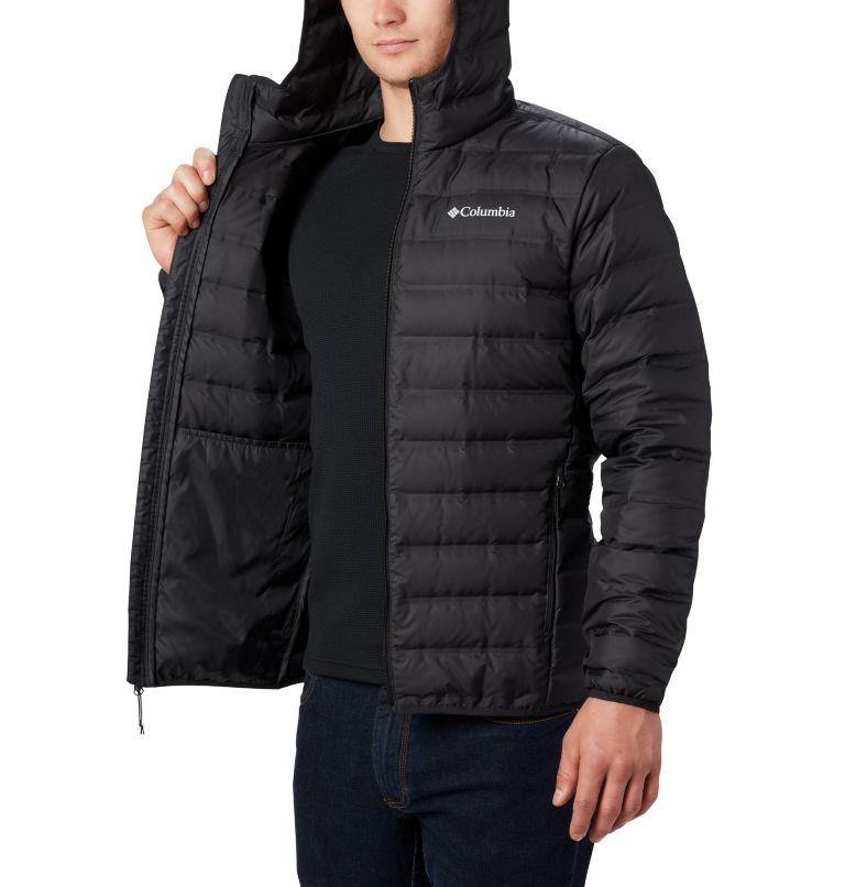 Lake 22™ Down Hooded Jacket | 010 | L Men's Lake 22 Down Hooded Jacket, Black, a3