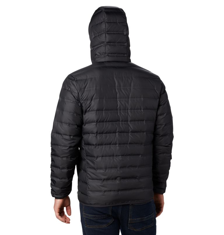 Lake 22™ Down Hooded Jacket | 010 | L Men's Lake 22 Down Hooded Jacket, Black, back