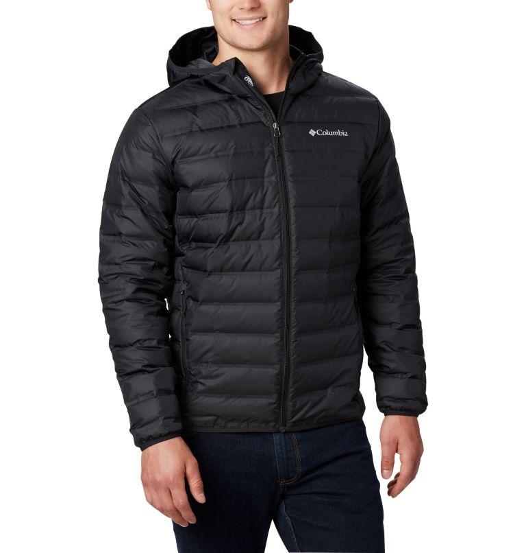 Lake 22™ Down Hooded Jacket | 010 | L Men's Lake 22 Down Hooded Jacket, Black, front
