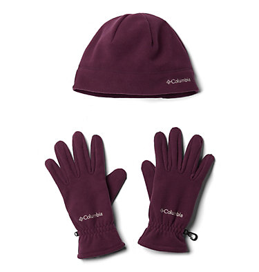 Unisex Fast Trek™ Hat and Glove Set , front