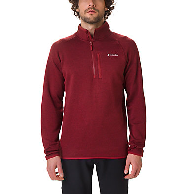Men's Canyon Point Half-Zip Sweater Fleece , front