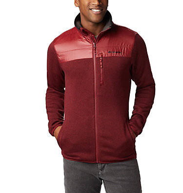Men's Canyon Point Full Zip Sweater Fleece , front