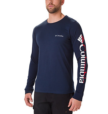 T-shirt Columbia Lodge™ Long Sleeve Graphic da uomo , front