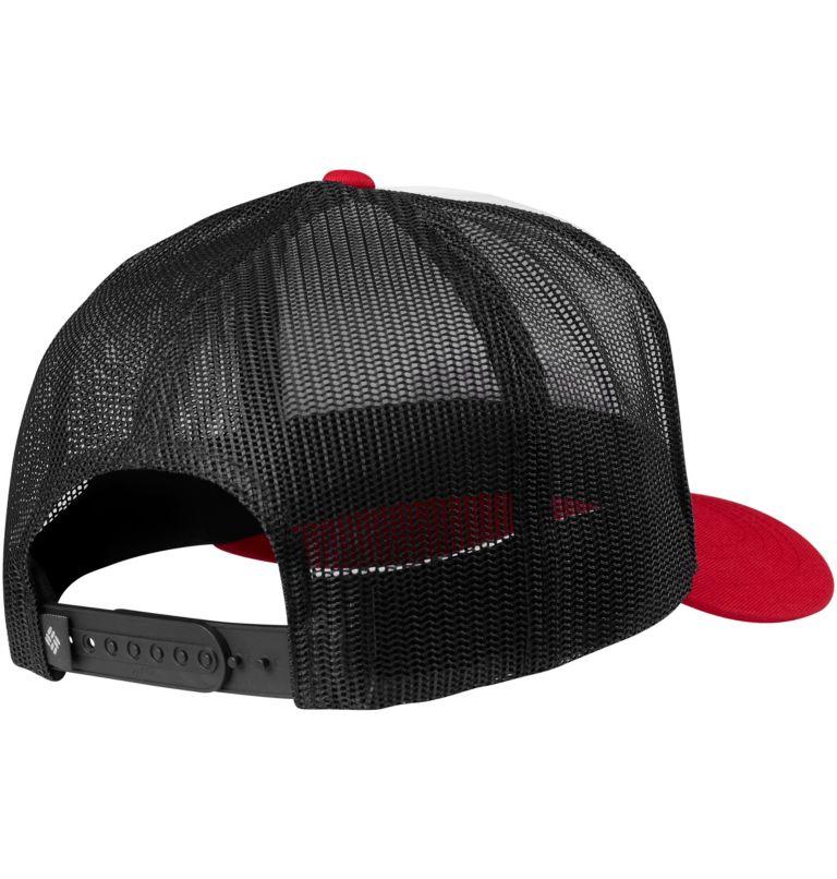 Norton Bay™ Ballcap   102   O/S Unisex Norton Bay™ Ball Cap, White, Mountain Red, back