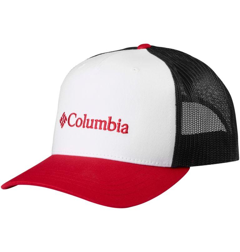 Norton Bay™ Ballcap   102   O/S Unisex Norton Bay™ Ball Cap, White, Mountain Red, front