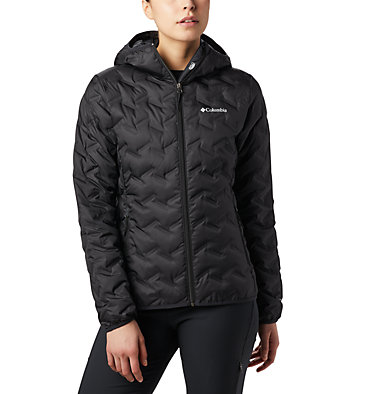 Women's Delta Ridge Down Hooded Jacket , front