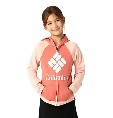 Columbia™ Branded French Terry Hoodie für Mädchen , front