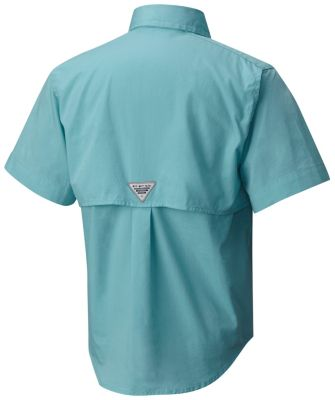 792a7682b Boys  PFG Bonehead Shorts Sleeve Button-up Fishing Shirt