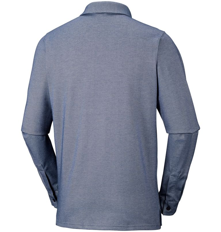 Men's Pilot Peak™ Long Sleeve Polo Men's Pilot Peak™ Long Sleeve Polo, back
