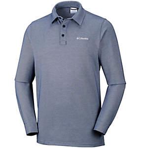 Pilot Peak™ langärmliges Poloshirt für Herren