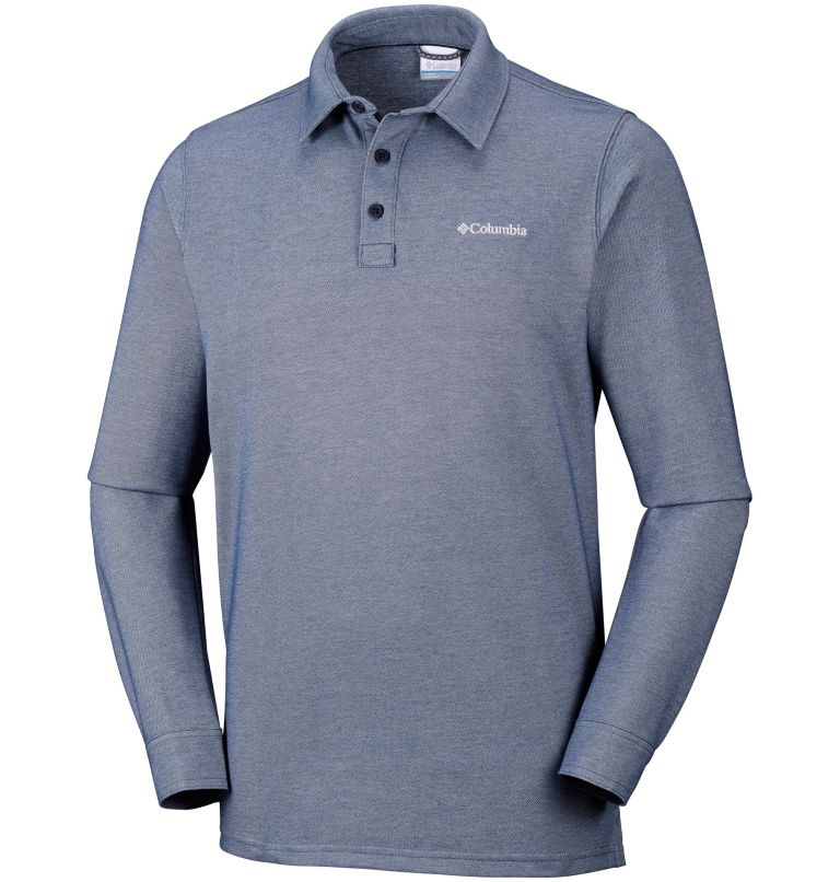 Men's Pilot Peak™ Long Sleeve Polo Men's Pilot Peak™ Long Sleeve Polo, front