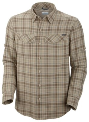 e39ce450363 Men's Silver Ridge™ Plaid Long Sleeve Shirt – Tall | Columbia.com