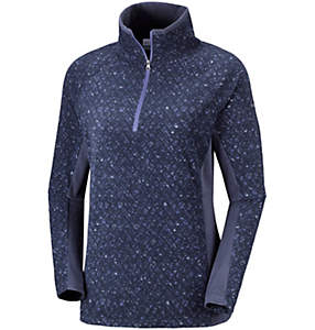 Women's Glacial™ IV 1/2 Zip - Patterned Print