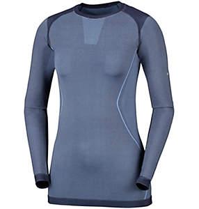Engineered Langarmshirt mit Rundhalsausschnitt für Damen