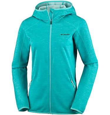 Sapphire Trail™ Hooded Fleece-Jacke für Damen  , front